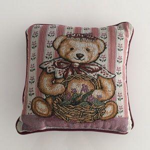 12 x 12 country bear pillow